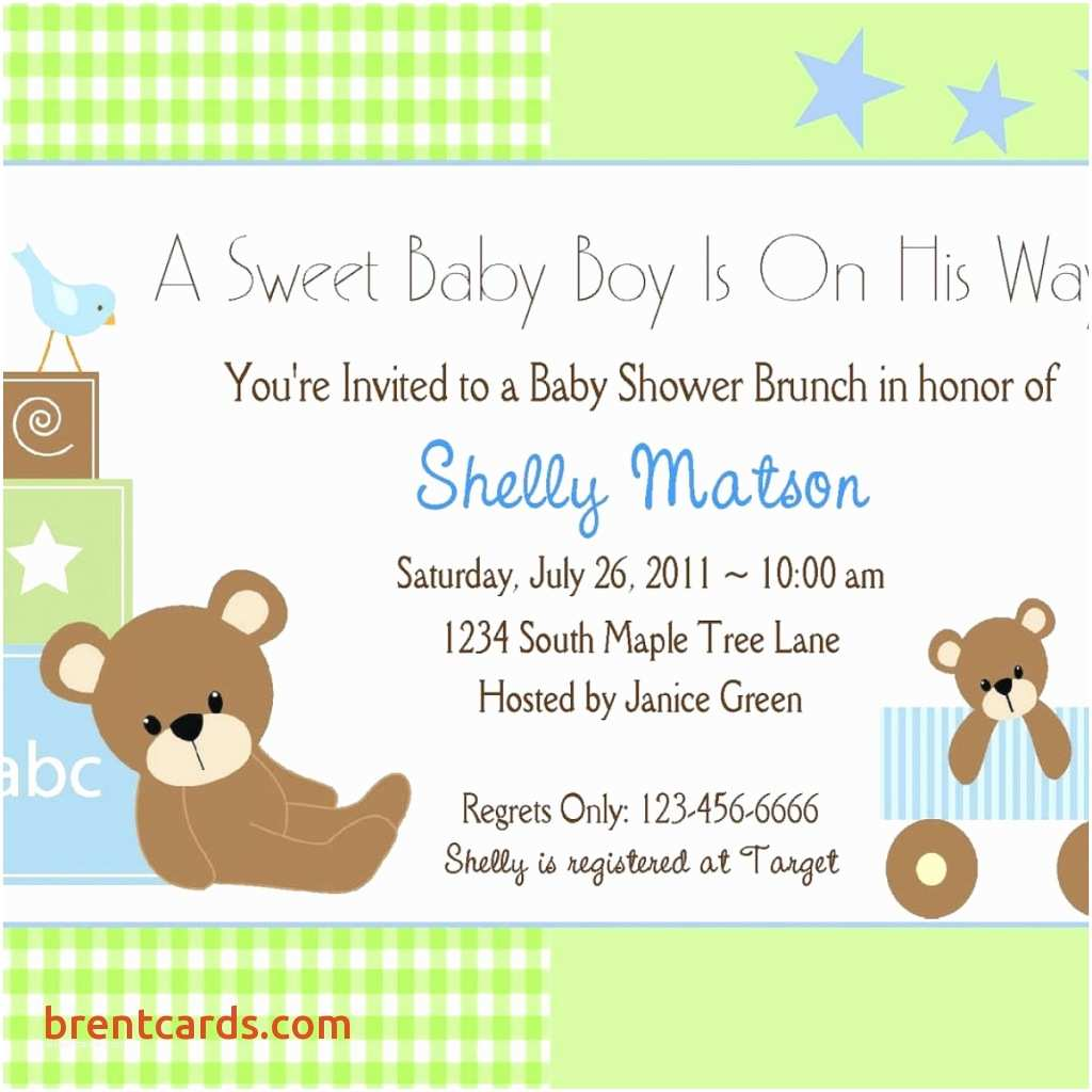 Baby Shower Invitation Wording for A Boy Customized Baby Shower Invitations for A Boy Baby Shower