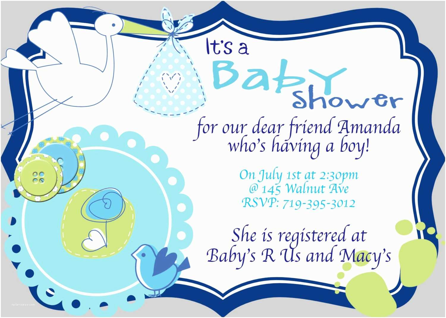Baby Shower Invitation Wording For A  Some Ideas To Make Great Baby Shower