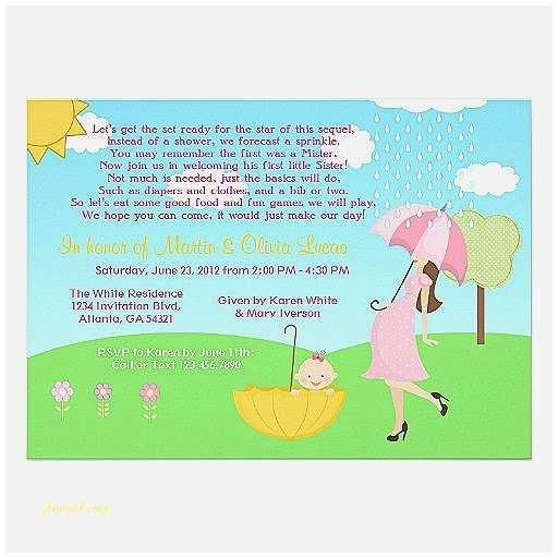 Baby Shower Invitation Wording Ideas Baby Shower Invitation New Baby Shower Invitation Wording