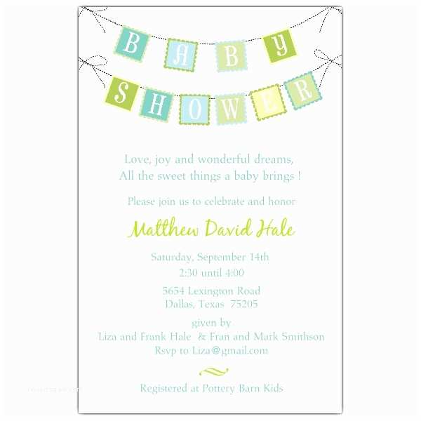 Baby Shower Invitation Wording Sample Baby Shower Invitations Wording