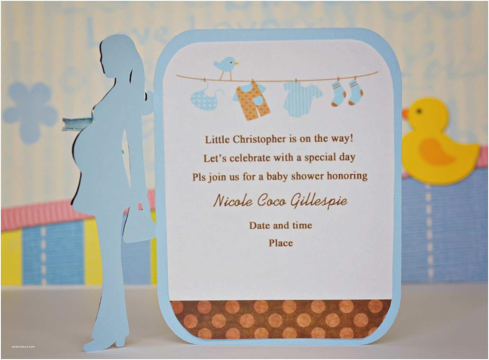 Baby Shower Invitations Baby Shower Invitation