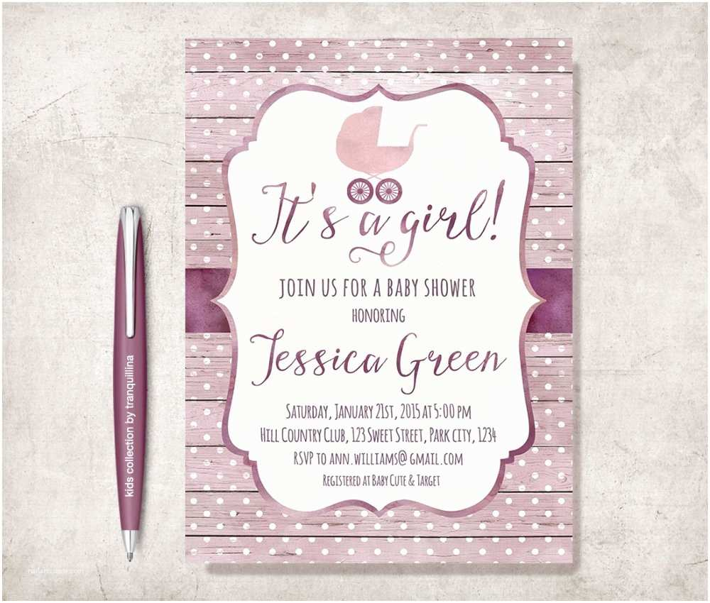 Baby Shower Invitations Cheap Template Cheap Shabby Chic Baby Shower Invitations