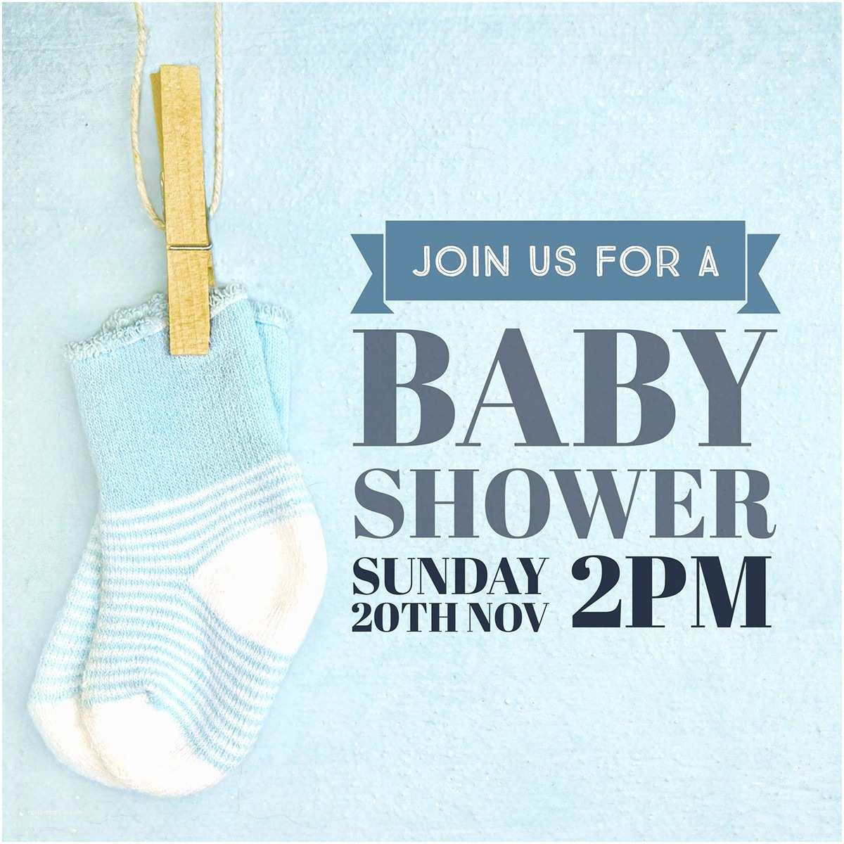 Baby Shower Invitations for Boy Make Your Own Baby Shower Invitations for Free