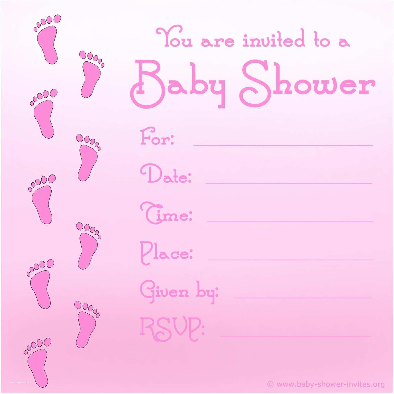 Baby Shower Invitations for Girls Baby Shower Invitations for Girls Templates