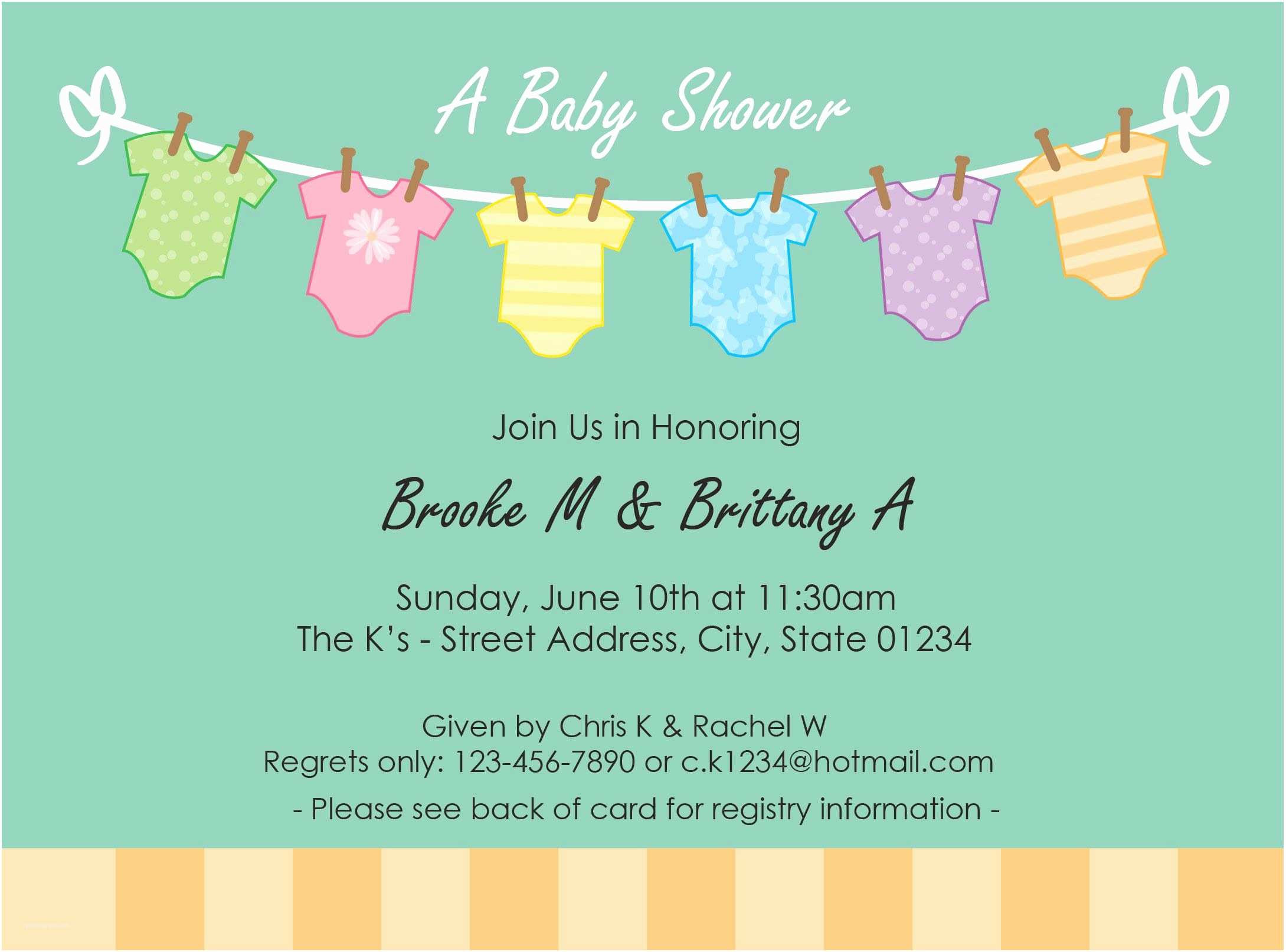 Baby Shower Invitations Free Free Baby Shower Invitation Template