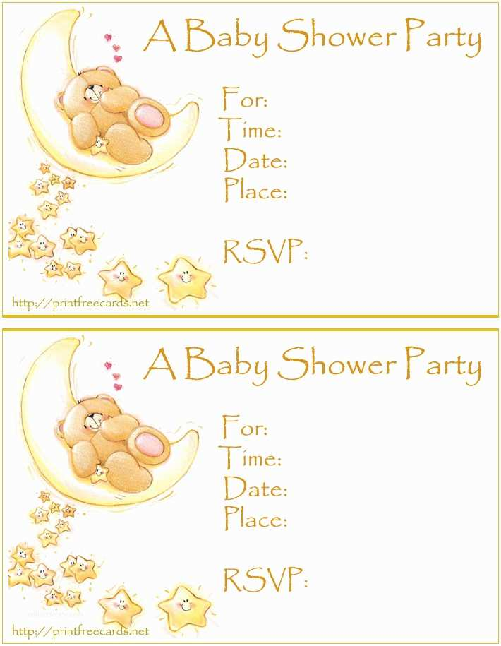 Baby Shower Invitations Free Free Baby Shower Invitations Free Printable Baby Shower