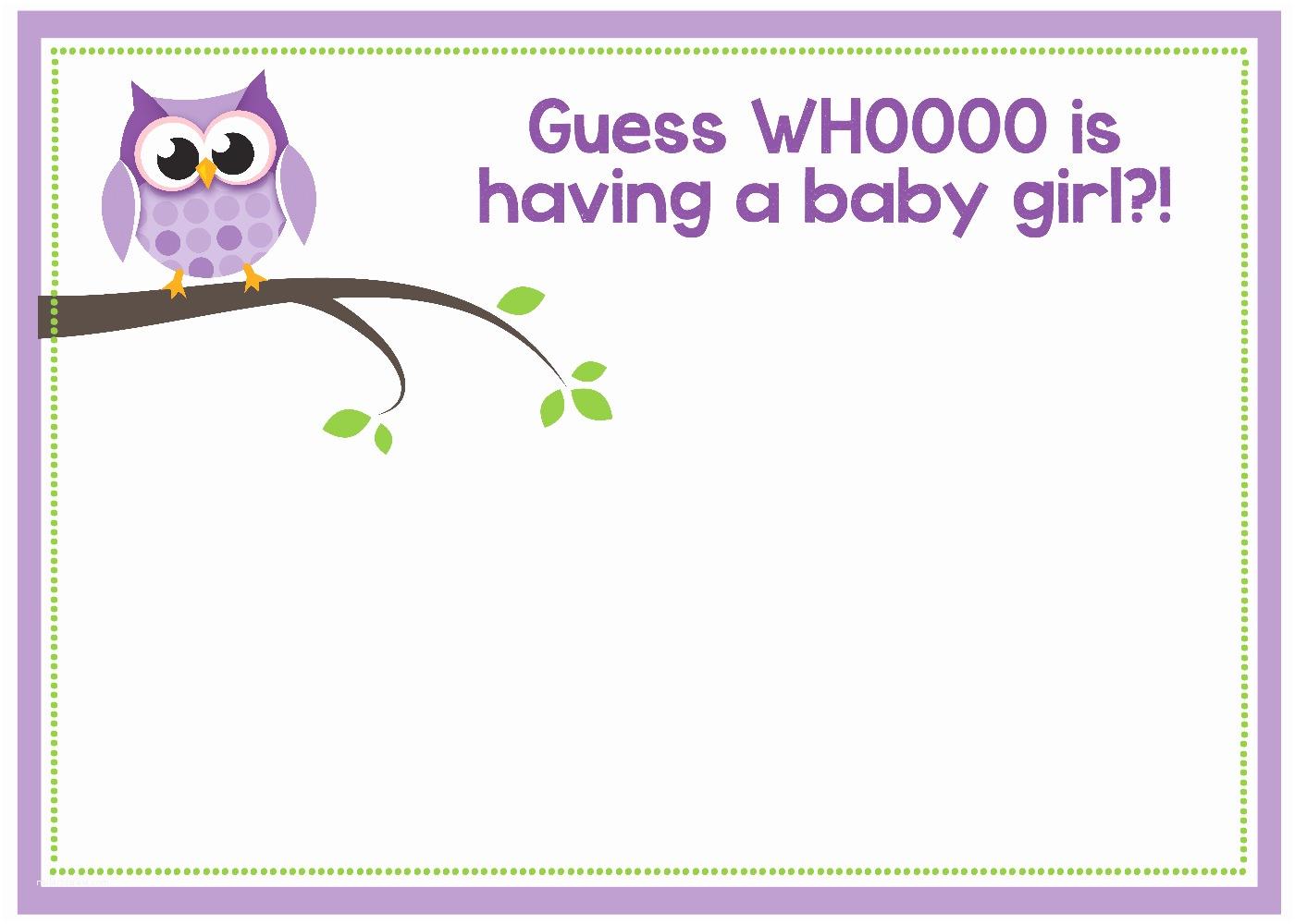 Baby Shower Invitations Free Free Printable Owl Baby Shower Invitations &