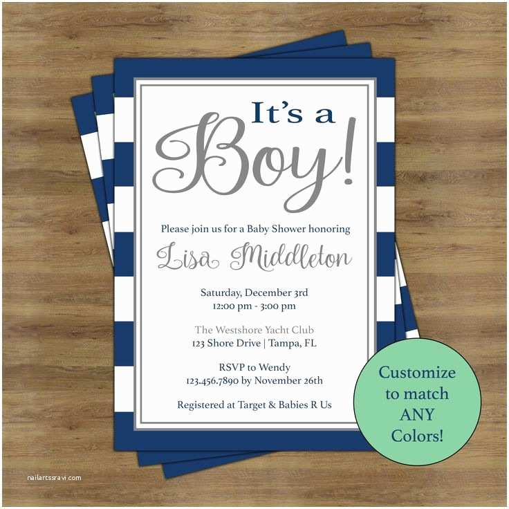 Baby Shower Invitations Ideas for Boys Best 25 Navy Baby Showers Ideas On Pinterest
