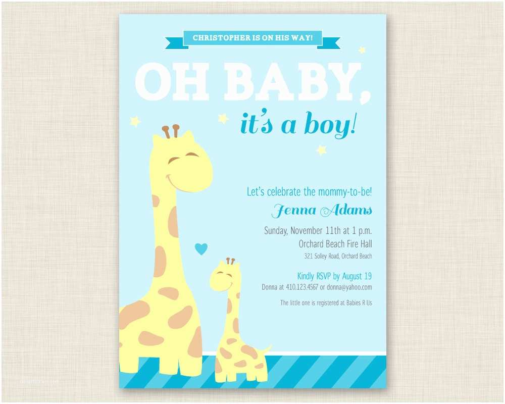 Baby Shower Invitations Online theme Free Printable Baby Shower Invitations for Boys