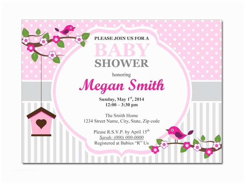 Baby Shower Invitations Templates Free Baby Shower Invitation Templates Microsoft Word
