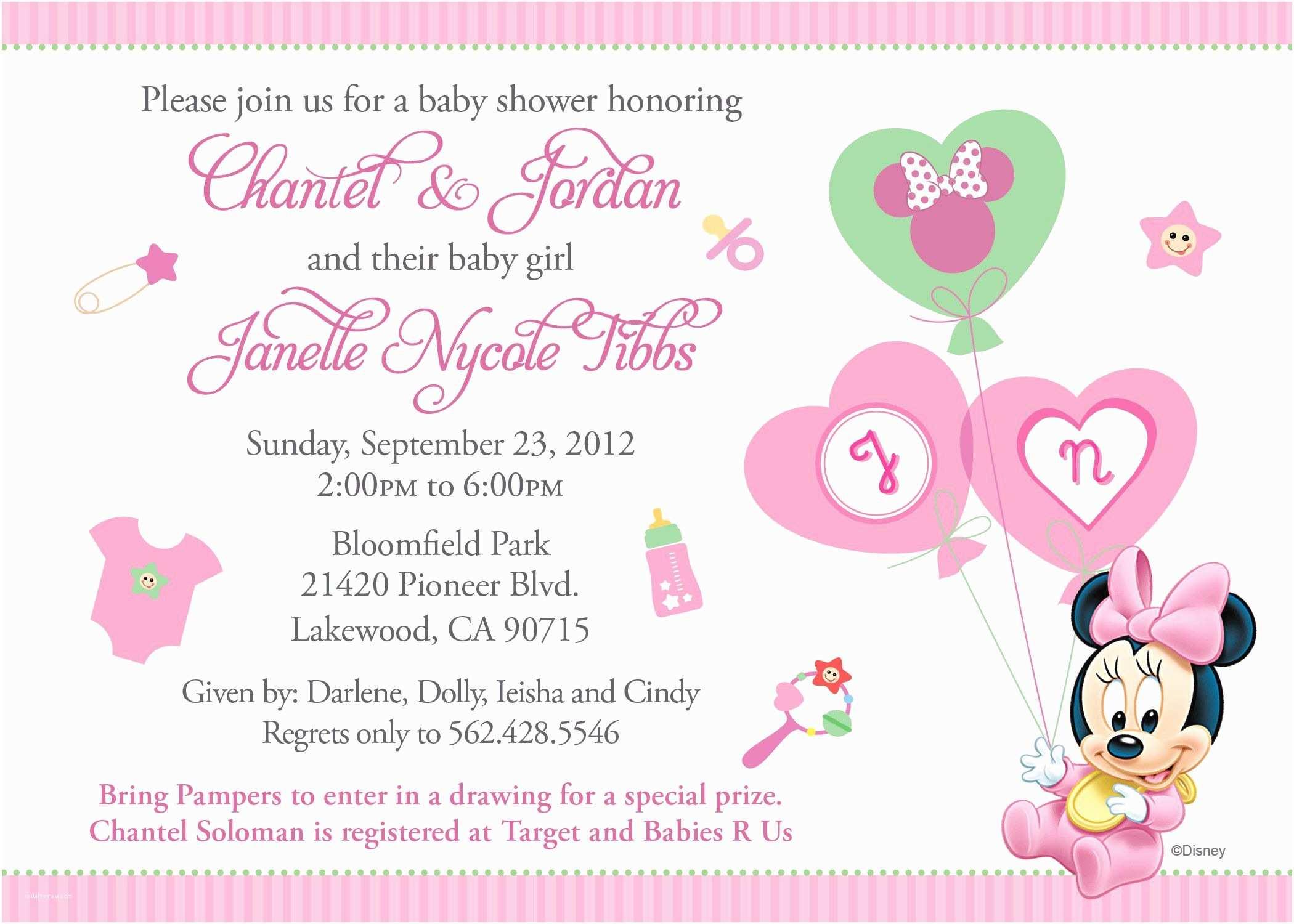Baby Shower Invitations Wording Baby Shower Invitation Free Baby Shower Invitation