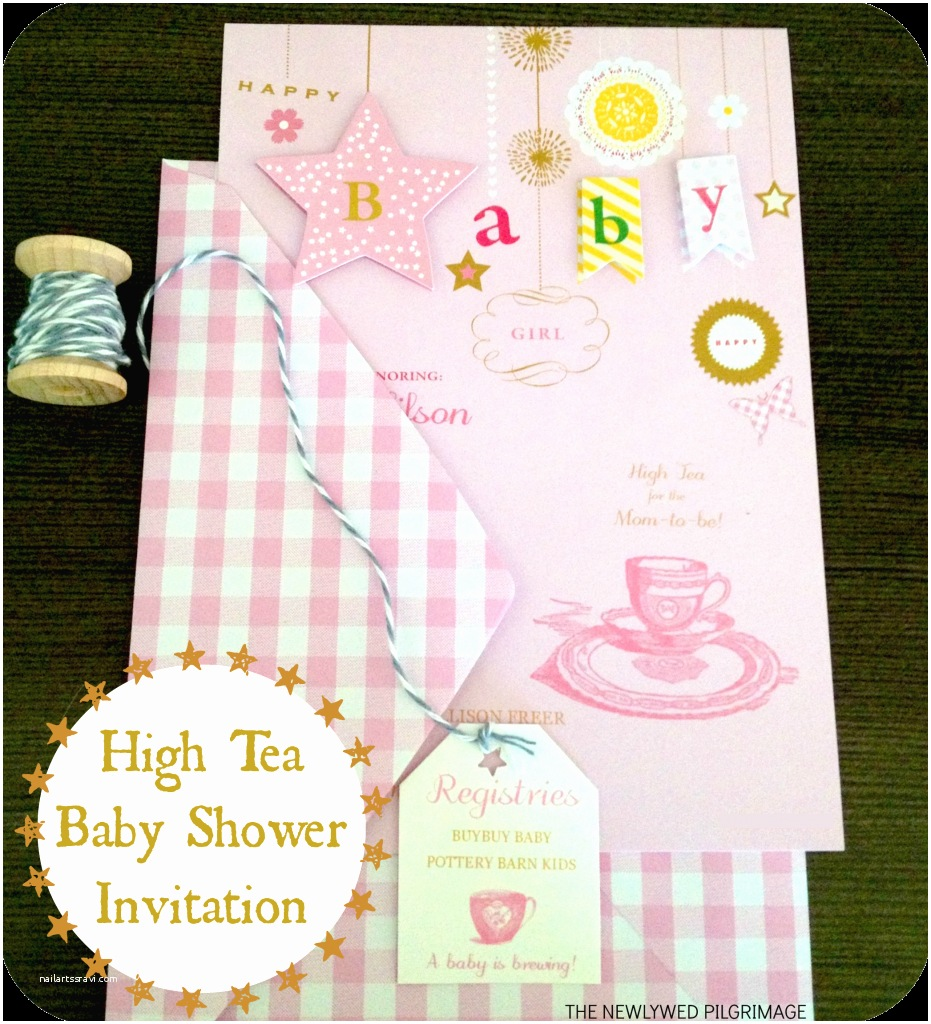 Baby Shower Tea Party Invitations Baby Showers Archives Mom Skills