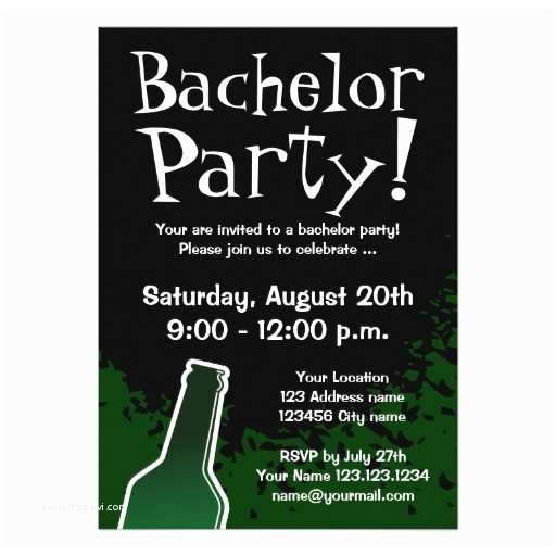 Bachelor Party Invitations Bachelor Party Invitations