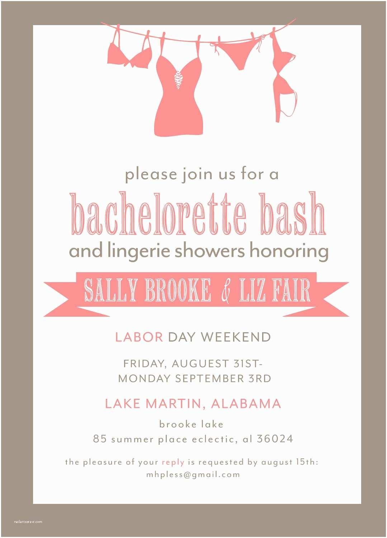Bachelorette Invitation Template Bachelorette Party Invitation Printable File