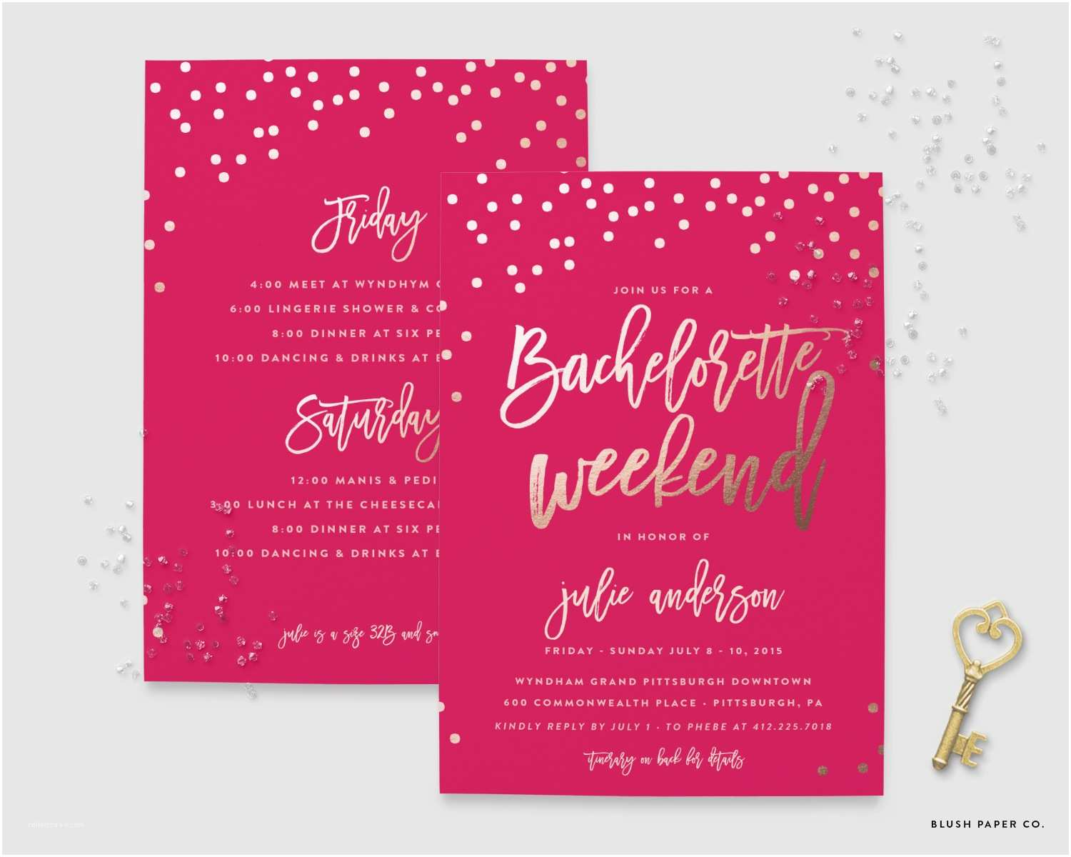 Bachelorette Invitations Bachelorette Party Invitations