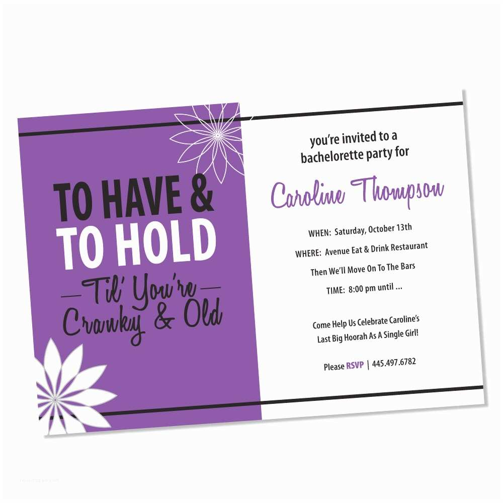 Bachelorette Invitations Free Bachelorette Party Invitations