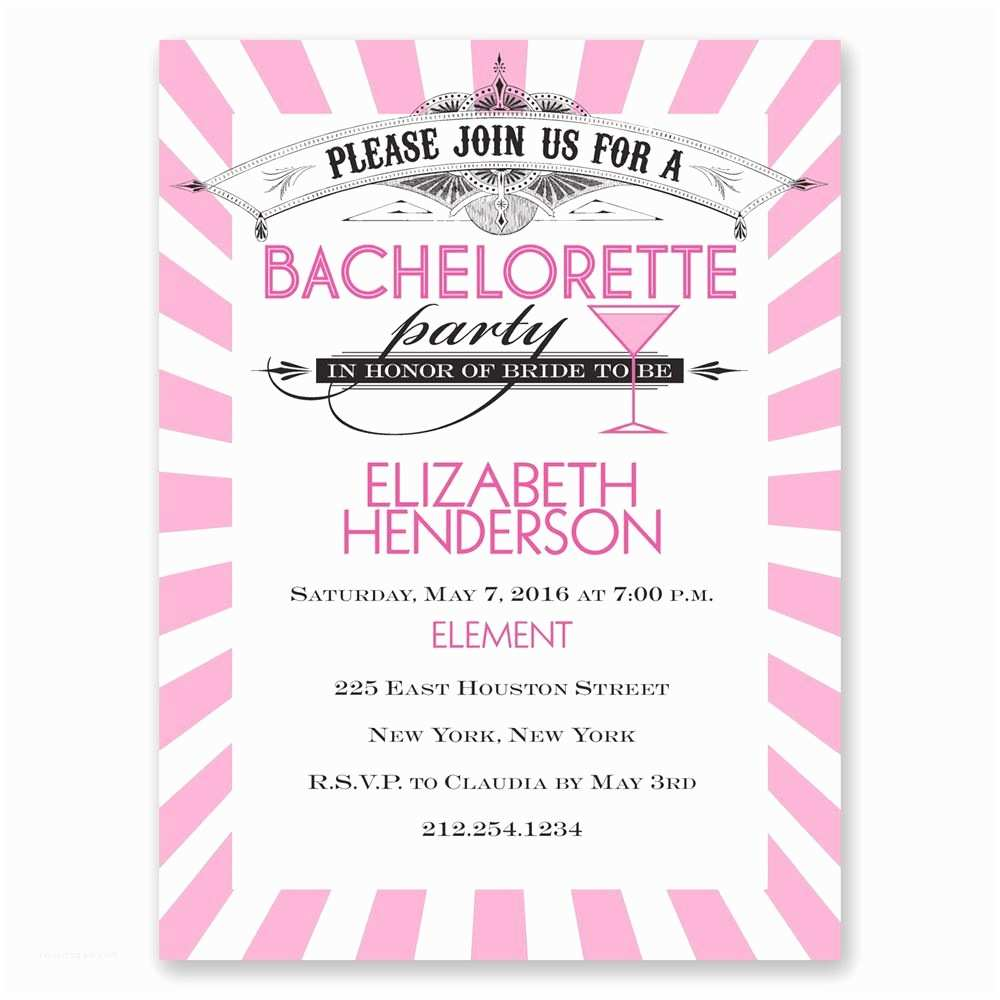 Bachelorette Invitations Join the Party Bachelorette Party Invitation