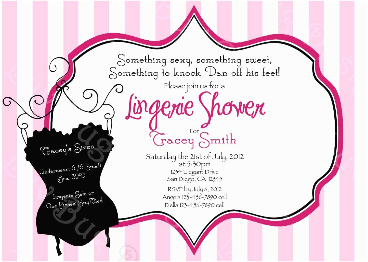 Bachelorette Party Invitation Templates Bachelorette Party Invitations – Gangcraft
