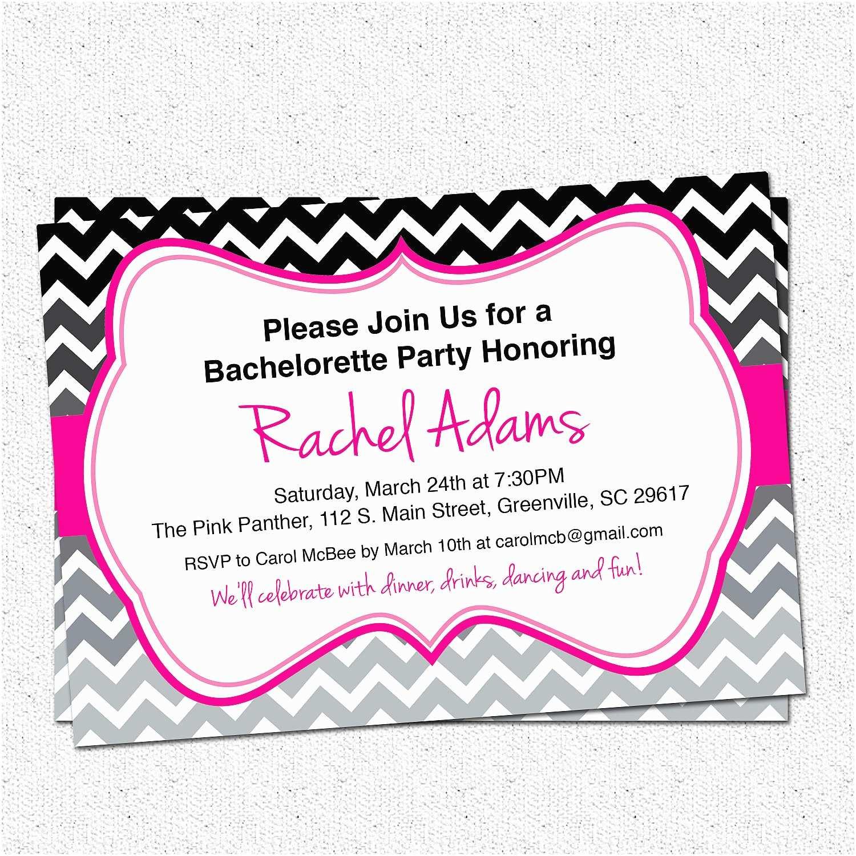 Bachelorette Party Invitation Templates Bachelorette Party Invite Template