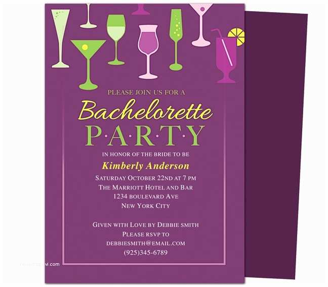 Bachelorette Party Invitation Templates Printable Diy Bachelorette Party Invitations Templates