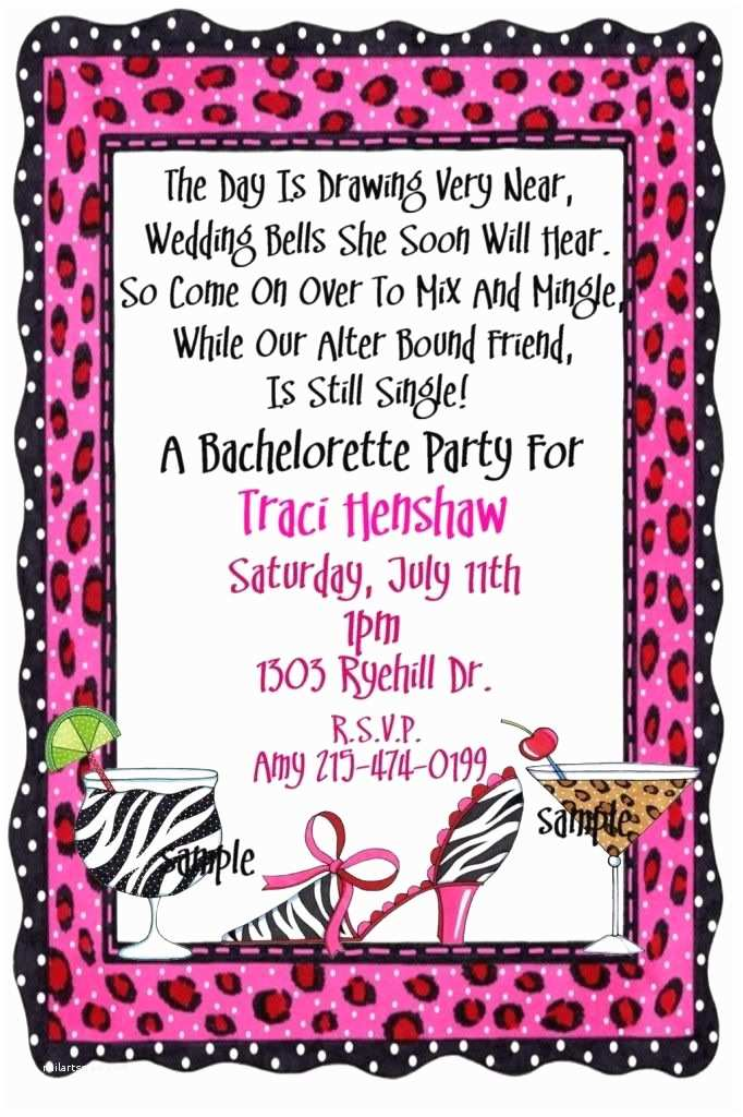 Bachelorette Party Invitations Bachelorette Party Invitation Wording