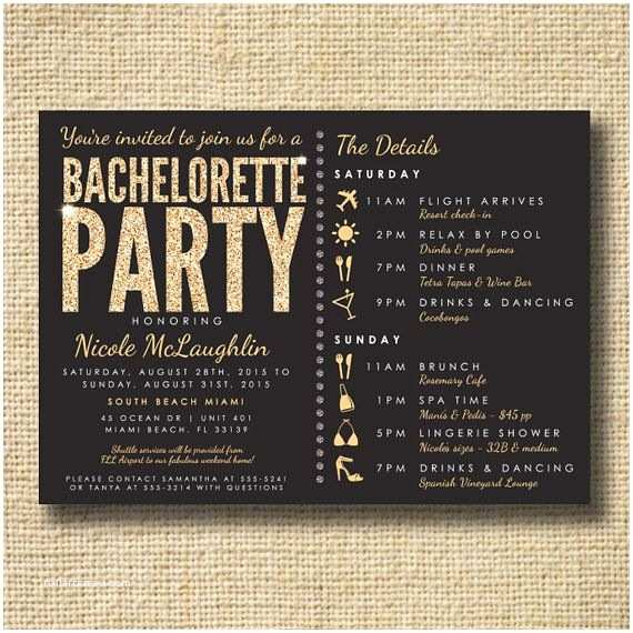 Bachelorette Party Invitations the 25 Best Ideas About Bachelorette Party Invitations On