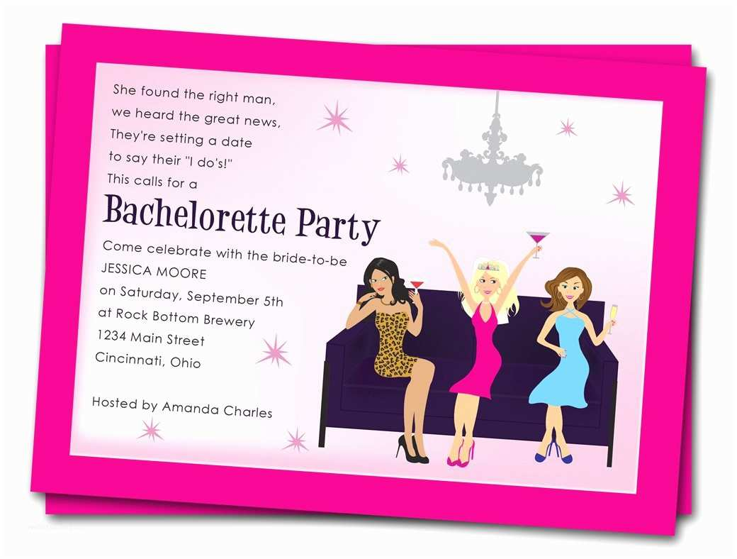 Bachelorette Party Online Invitations Printable Bachelorette Party Invitations Free