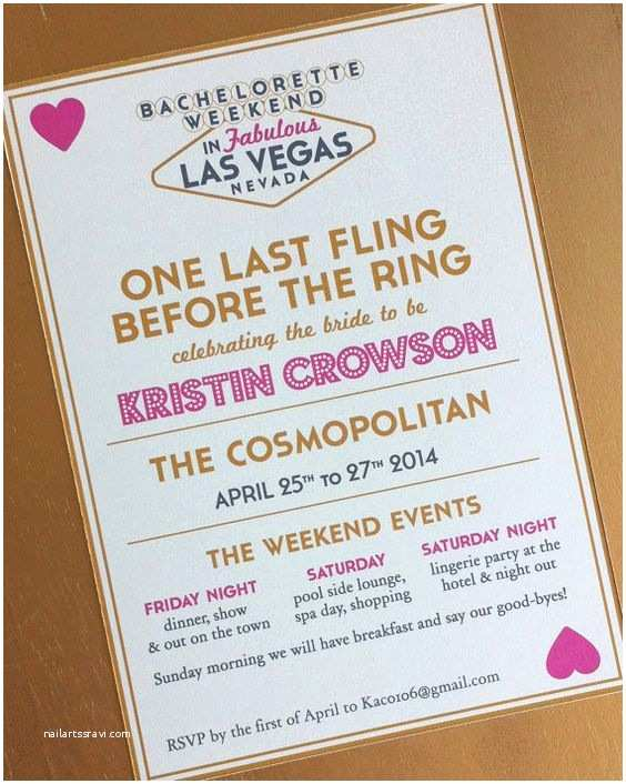 Bachelorette Weekend Invitations Bachelorette Parties Vegas Bachelorette and Parties On