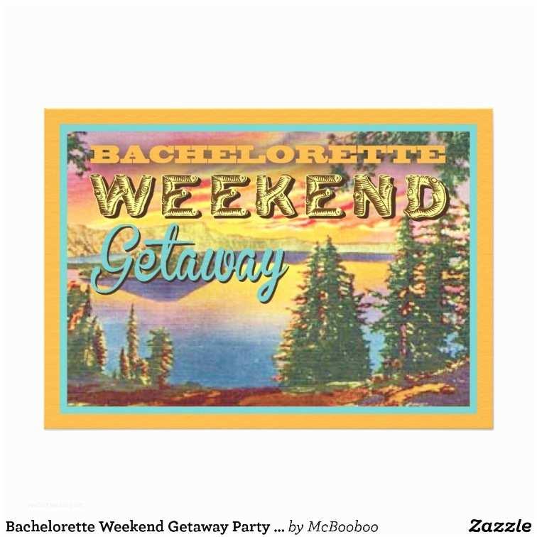 Bachelorette Weekend Invitations Bachelorette Weekend Getaway Party Invitations