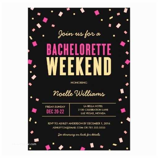 Bachelorette Weekend Invitations Bachelorette Weekend Itinerary Invitation