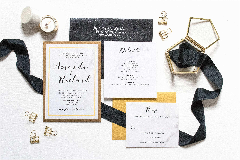 Back Pocket Wedding Invitations Wedding Invitation with Pocket On Back Chatterzoom