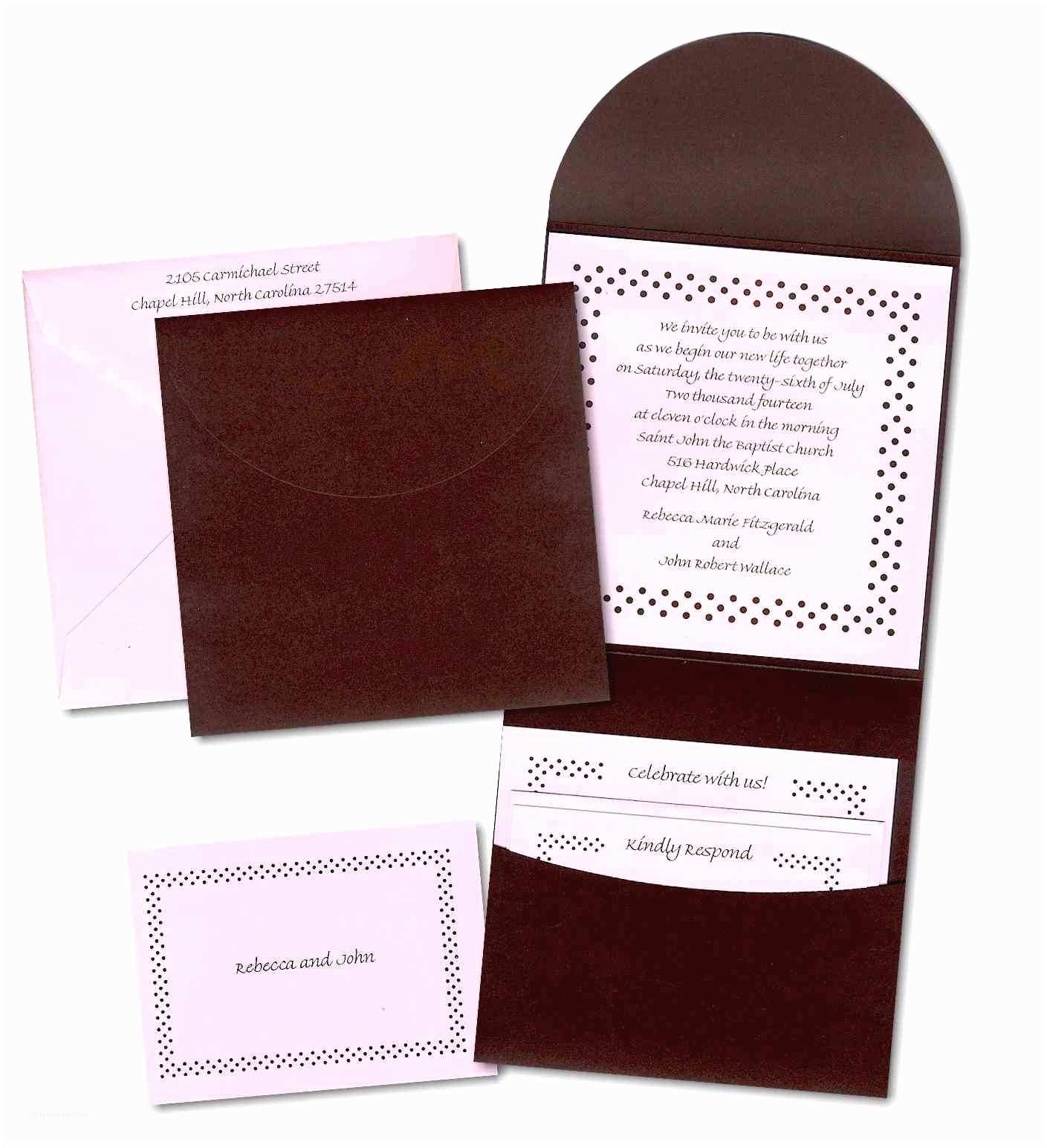 Back Pocket Wedding Invitations Wedding Pocket Invitations Beautiful Square Pocket Wedding
