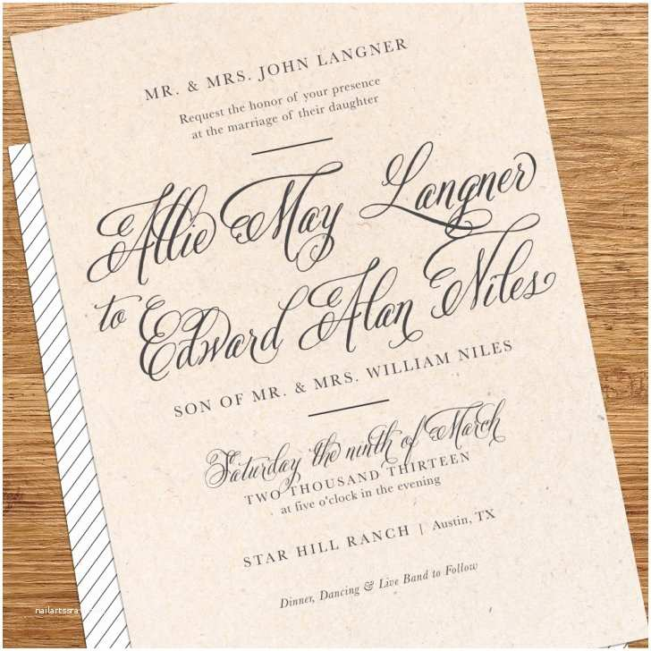 Backyard Wedding Invitations Backyard Wedding Invitation Wording – Mini Bridal