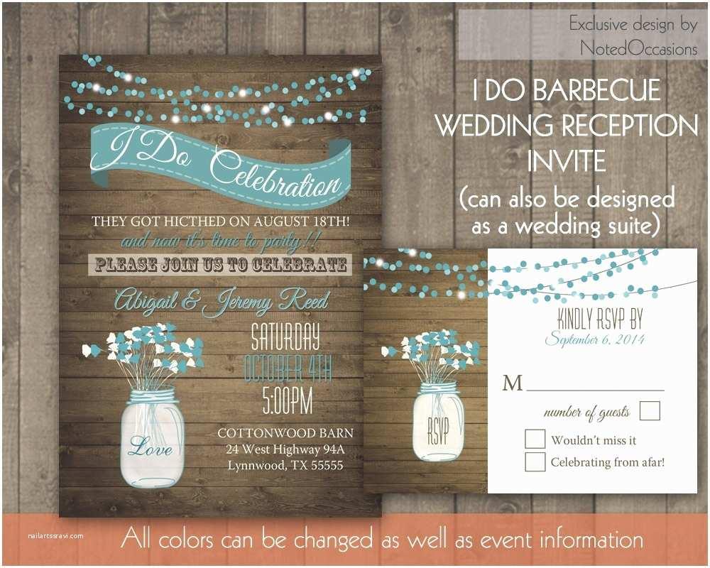Backyard Wedding Invitations Backyard Wedding Reception Invitation Wording Reception