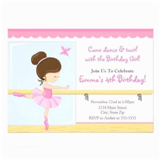 Ballerina Birthday Invitations 233 Best Ballerina Birthday Party Invitations Images On