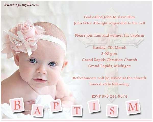 Baptism Invitation Wording Baptism Invitation Wording Samples Wordings and Messages