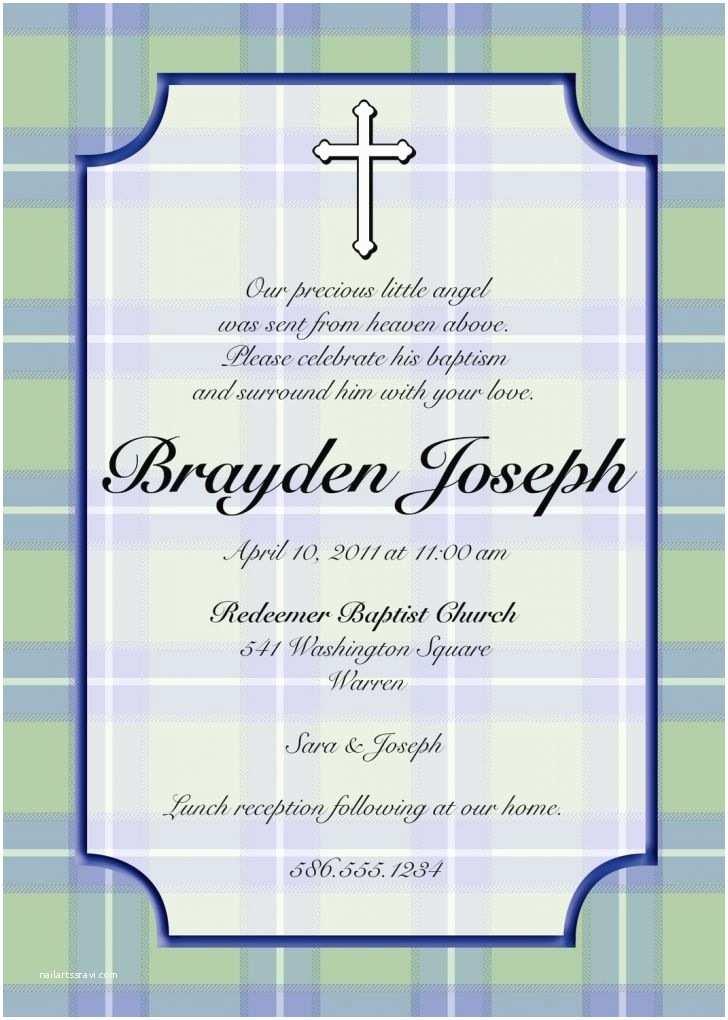 Baptism Invitation Wording Baptism Invitations In Spanish