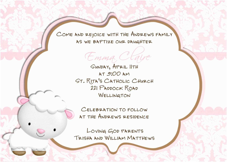 Baptism Invitation Wording Baptism Invitations Wording – Gangcraft