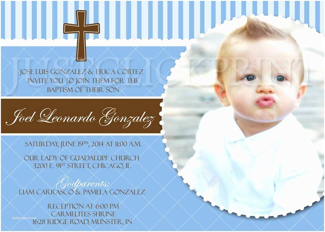 Baptism Invitations for Boys Baptism Invitations for Boys – Gangcraft