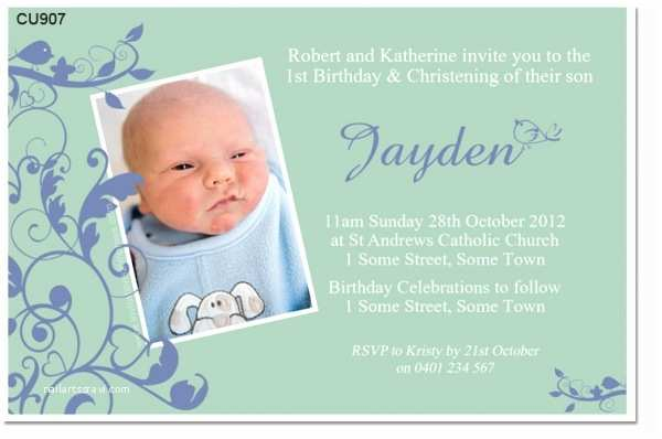 Baptism Invitations for Boys Invitation for Christening Boy Gallery Invitation Sample