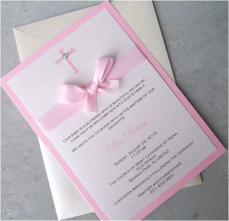 Baptism Invitations for Girls Baby Girl Baptism Invitations – Gangcraft