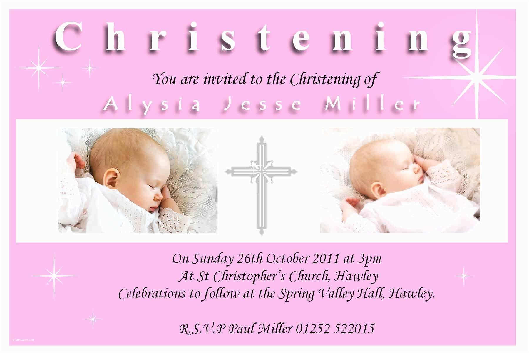 Baptism Invitations Templates Christening Blank Templates Search Results