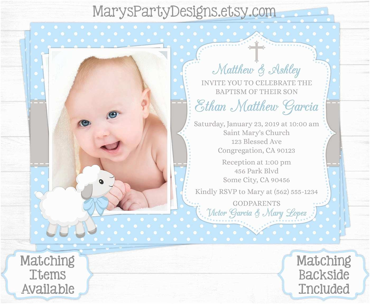 Baptismal Invitation Baptism Invitation Template Baptismal