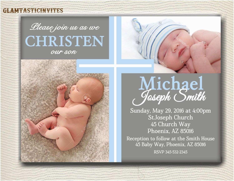Baptismal Invitation Boy Baptism Invitations Background