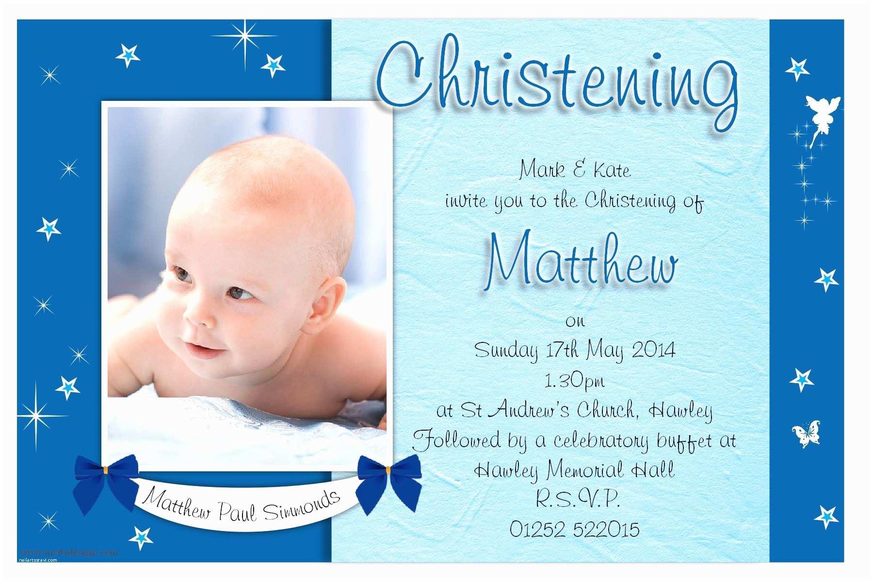 Baptismal Invitation Christening Invitation Cards Christening Invitation