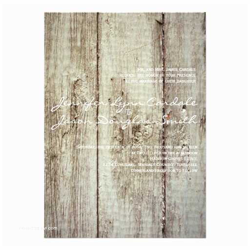 Barn Wood Wedding Invitations Rustic Country Barn Wood Wedding Invitations