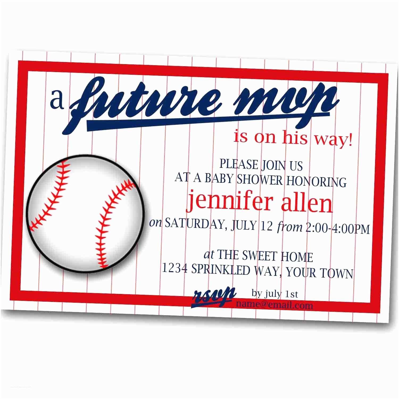 future m v p baseball baby shower