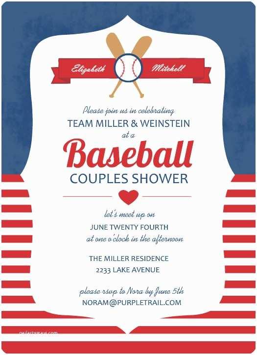 baseball birthday invitations template