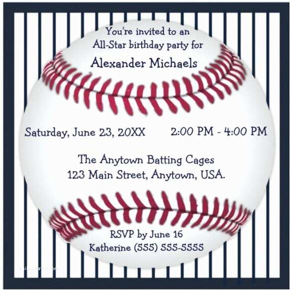 Baseball Birthday Invitations Baseball Ticket Invitation Template Free – orderecigsjuice