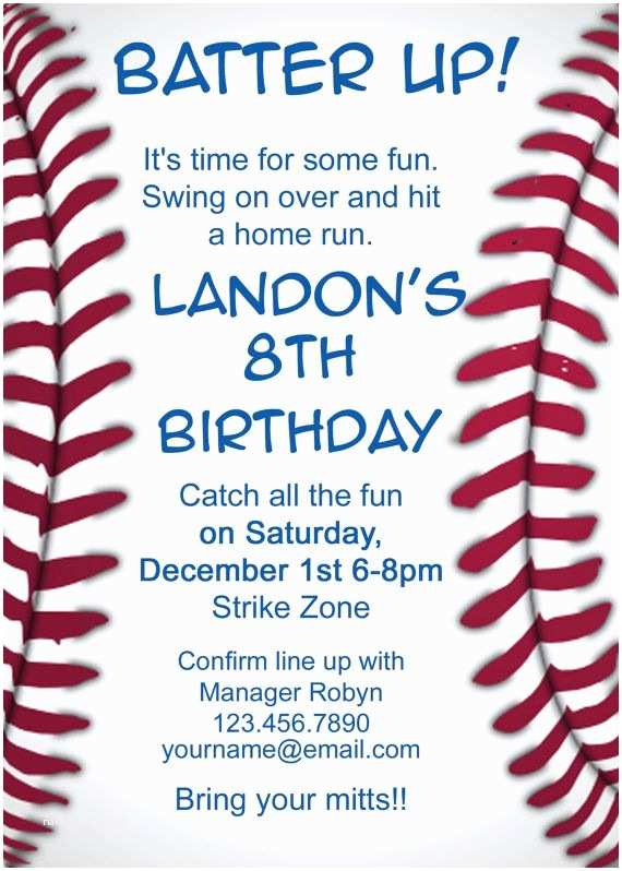 Baseball Party Invitations 25 Best Ideas About Baseball Party Invitations On